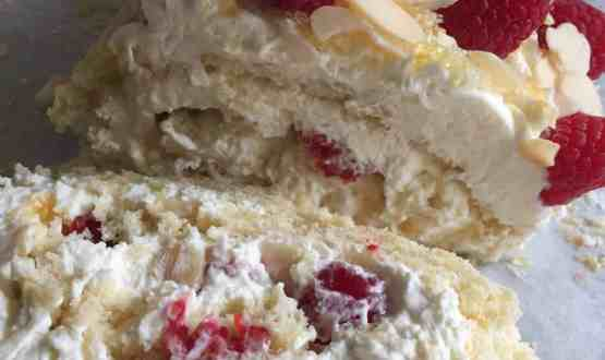 Raspberry Ripple Swiss Roll