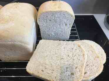 Nordic plain wheat bread.