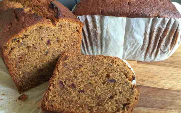 Sliced Date and Coffee loaves