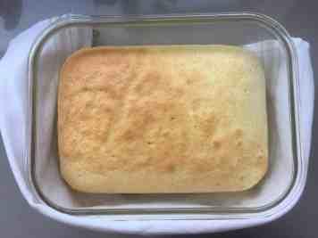 baked sponge