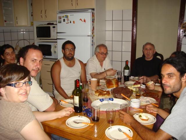 Lucio Urtubia e amigos em Viamão - 2008