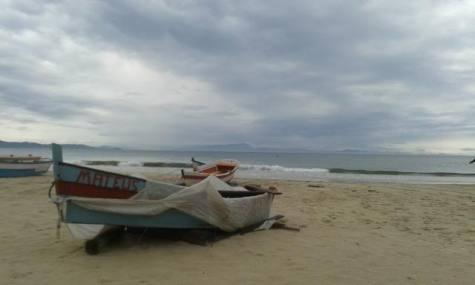 Feriado chuvoso em Florianópolis