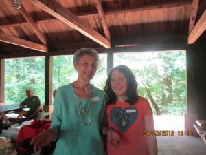 Marcia McKee with granddaughter, Erin
