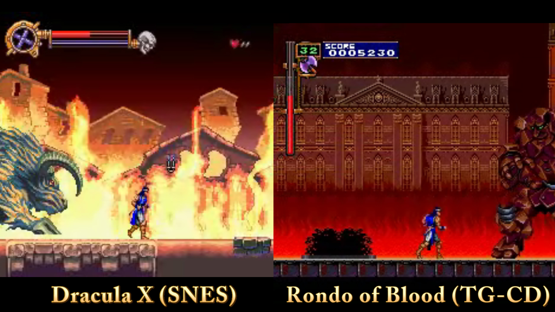 16 Bit Gems 17 Castlevania Rondo Of Blood TG CD Clan Of The Gray Wolf