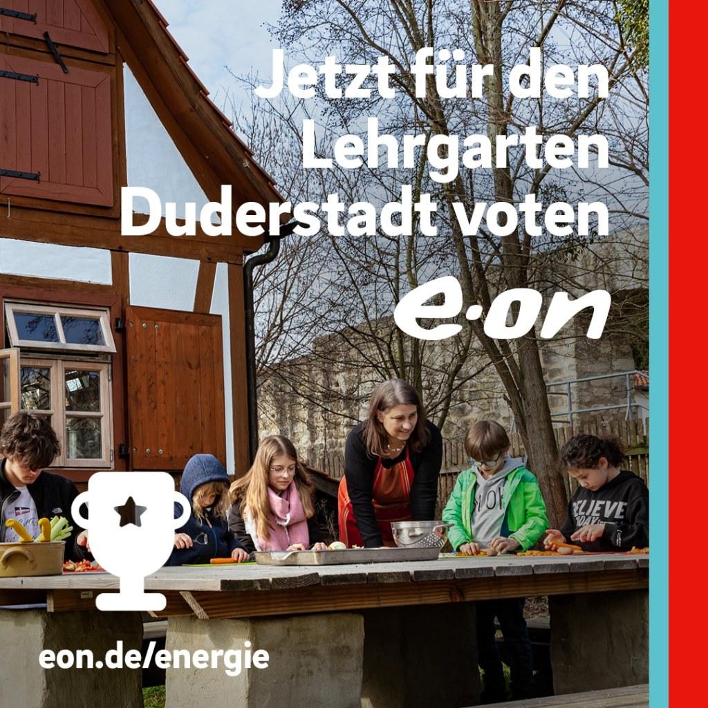 E.ON Voting: Duderstädter Lehrgarten