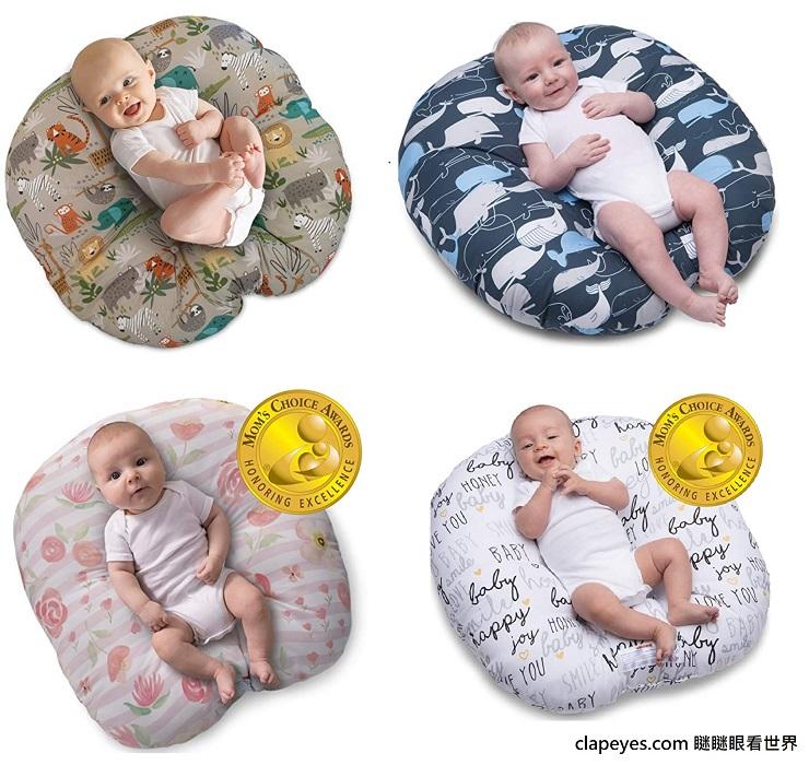 [育兒生活] 實用好物推薦: Boppy 新生兒躺枕 (Newborn Lounger) - 瞇瞇眼看世界