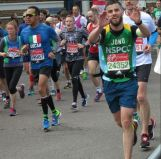 Jonathan M-S, 4h05 in the London Marathon