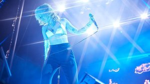 Miley Cyrus Wears Silver Bikini Highest conceivable While Showing At BottleRock 2021 — Photos