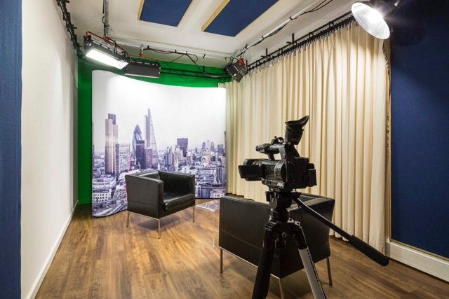 corporate video, broadcast, tv studio