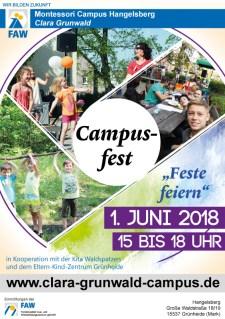 Montessori Campus Hangelsberg Clara Grunwald_Campusfest am 1. Juni 2018
