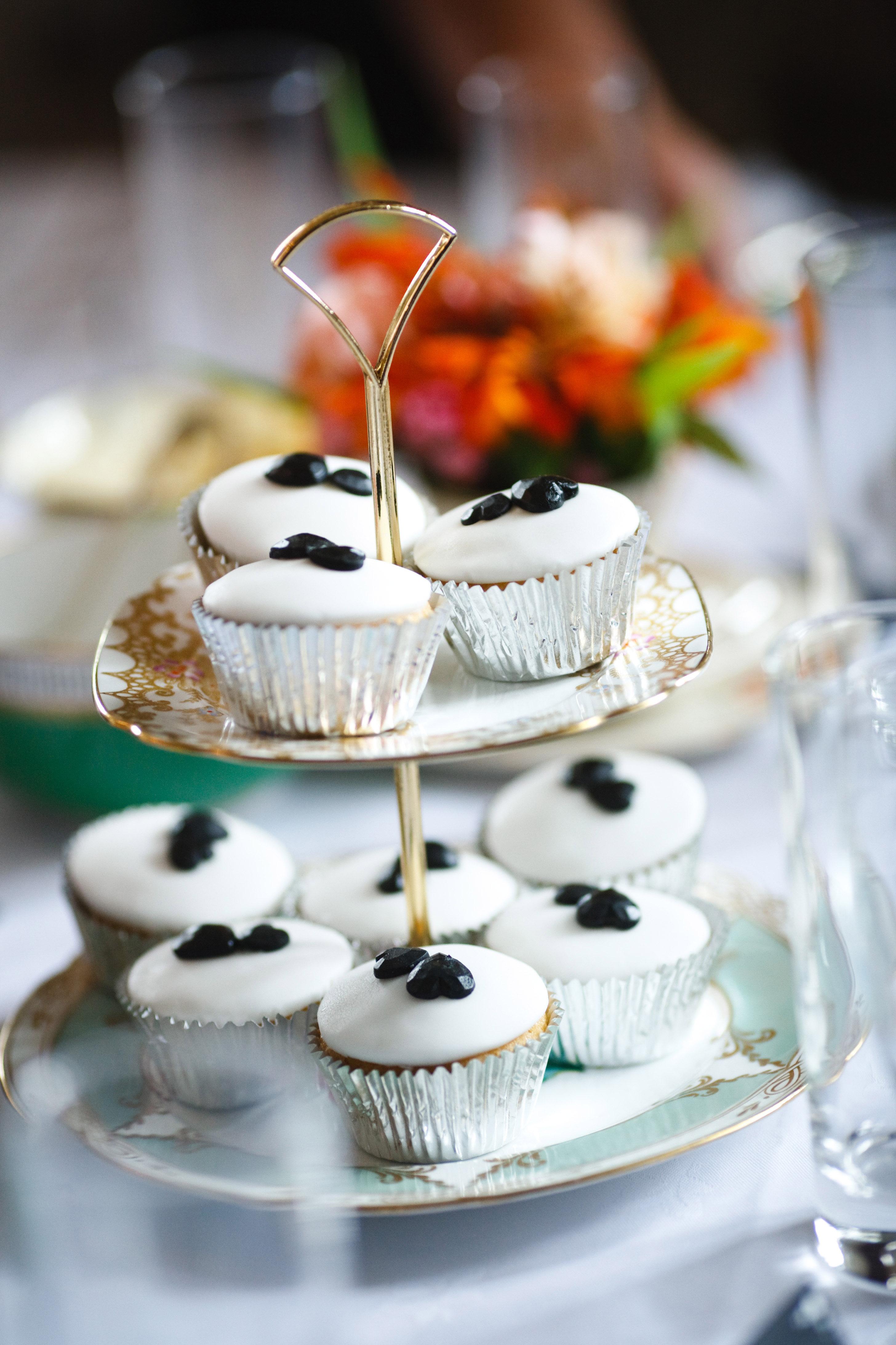 Bespoke cake stands from Vintage Tea Sets