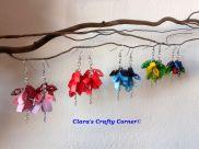 Multi Coloured Dangling Earrings
