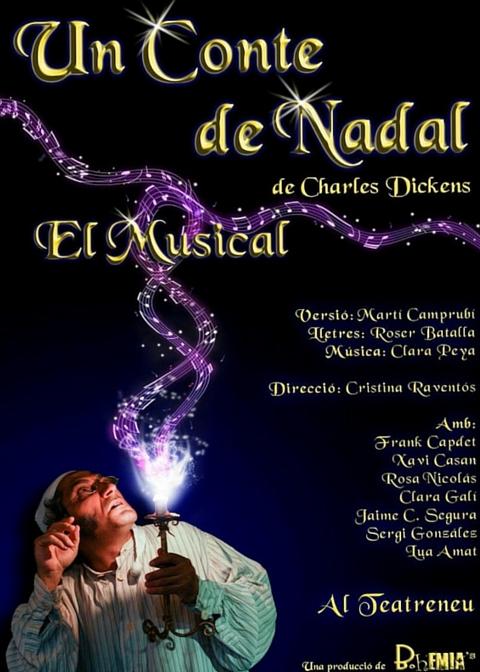 Clara Gali - Un conte de Nadal. El Musical - Teatre Regina