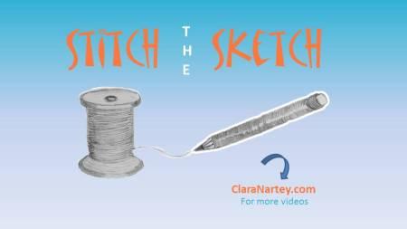 stitch the sketch