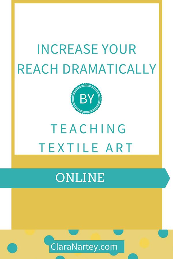 teach art workshops to reach more people