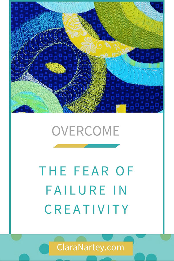 How to overcome the fear that often comes with creativity