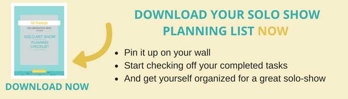 download-your-solo-show-planning-list