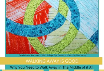 walk away from your creative project