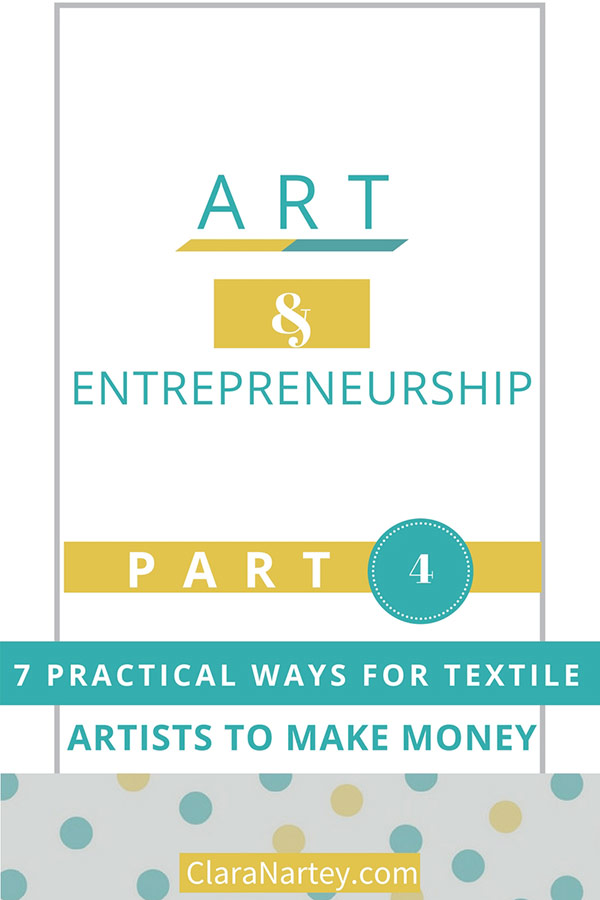 Monetize Your Creative Passion | Sell Art Quilts | Sell Sewing Patterns | Design Fabrics for Sale