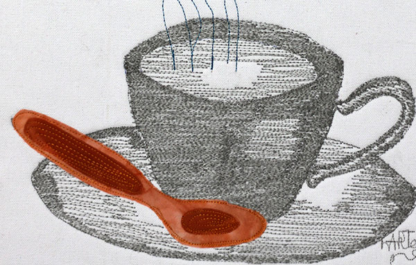 Creative Abilities | Stitched Drawing | Thread Shading