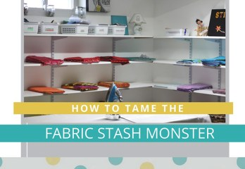Controlling Your Fabric Stash