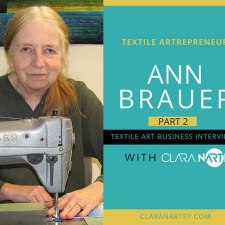 Selling Art Quilts at a Fine Craft Show – with Ann Brauer