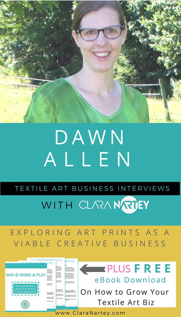 Selling Digital Art Prints: Interview with Dawn Allen | CLARA NARTEY
