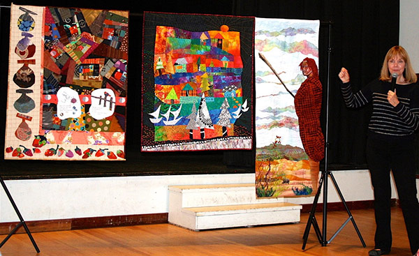 Art Quilt Teacher - Terry Waldron