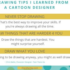 3 Drawing Tips I Learned from My Son's Cartoon Designer – Chris Battle