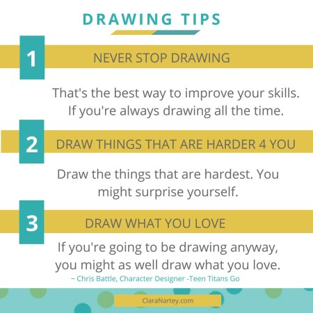 Drawing Tips by Chis Battle