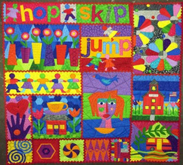 """""""Hopscotch"""" - A Fabric Line by Jamie Fingal"""