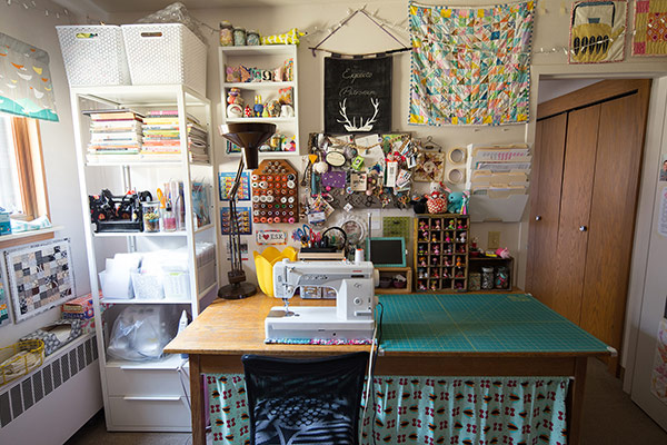 Fabric Design by Jeni Baker   Sewing Room