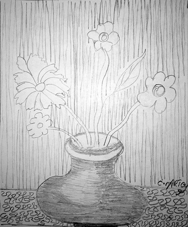 Sketching Whimsical Flowers