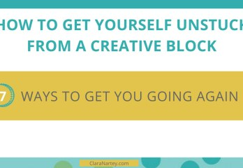 Stuck creatively | Creative Blocks | Get Unstuck