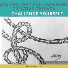 A Sure Fire Way for Exponential Creative Growth: Challenge Yourself