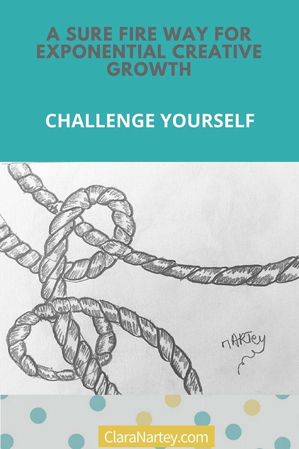 Challenge Yourself | 30 Day Art Challenge | 30 Day Creative Challenge | Drawing Challenge | Textile Art Challenge