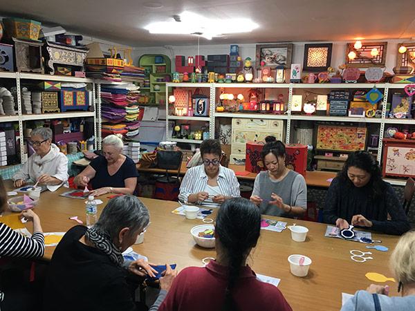 Hanji Workshop | Textile Tourists in Korea