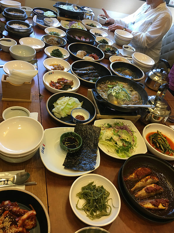Korean Cuisine | Korean Textile Tour