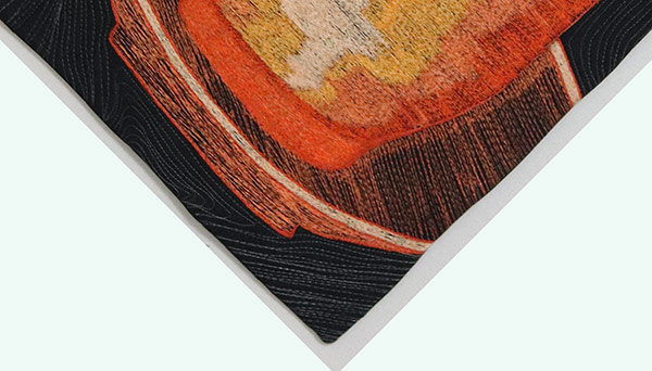 Nicely faced quilt edges |No bulky corners| Facing Art Quilts