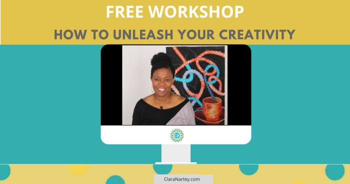 Free Creativity webinar | Unleash Your Creativity