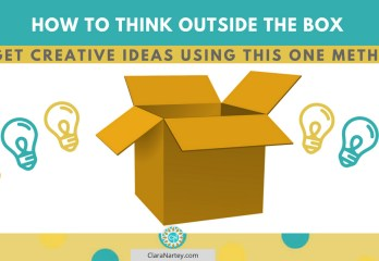 think outside the box   conceptual Blending