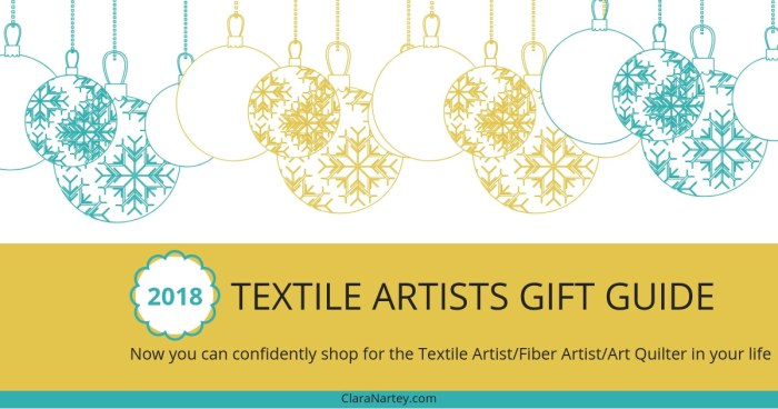 2018 Textile Artist Gift Guide   Art Quilter Gift Guide