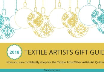 2018 Textile Artist Gift Guide | Art Quilter Gift Guide