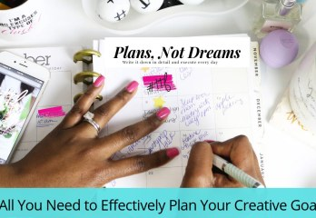 Plan your Creative Goals Effectively | Plan your quilt projects