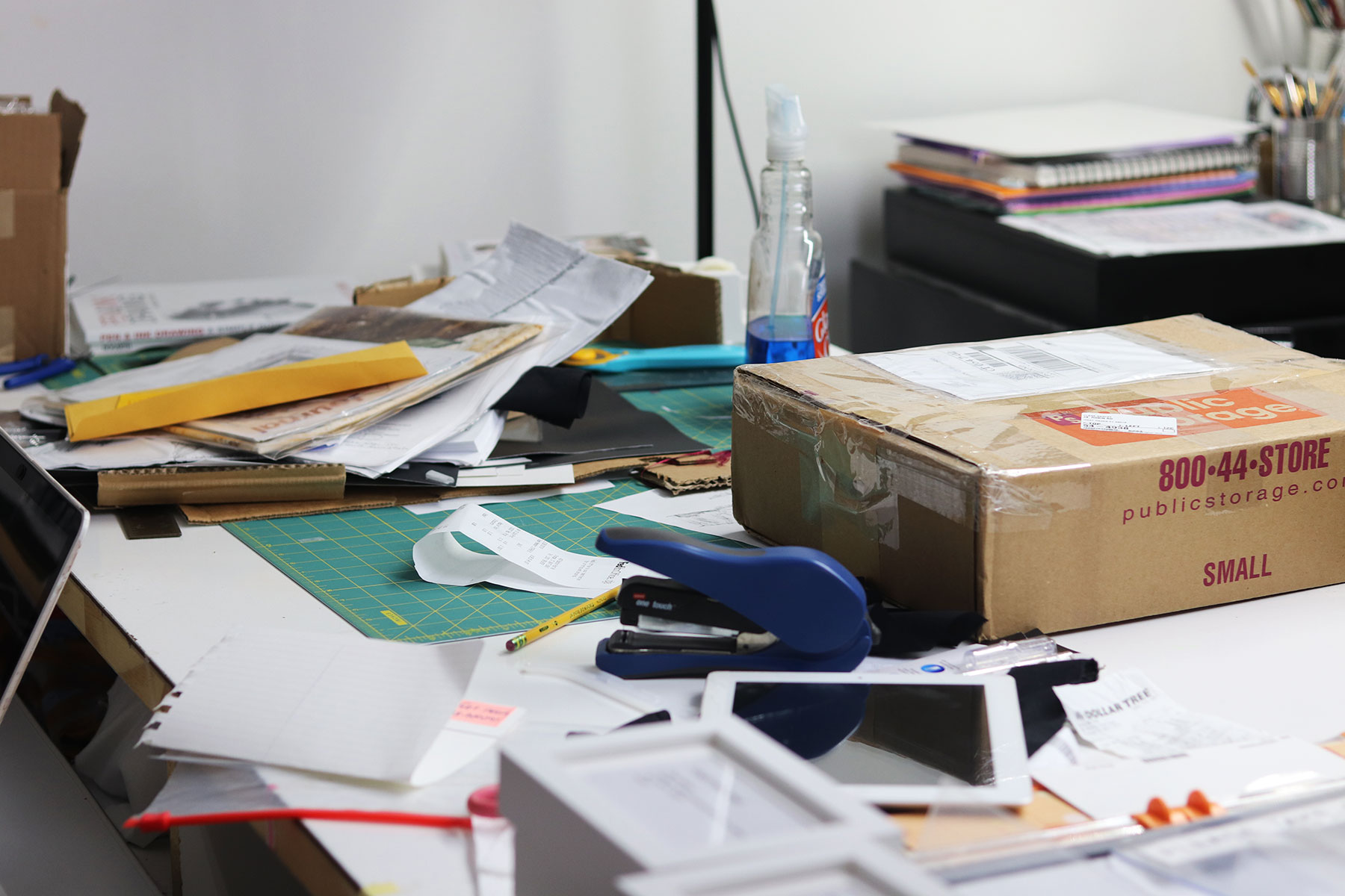 Organize your creative space to unleash your inner creativity
