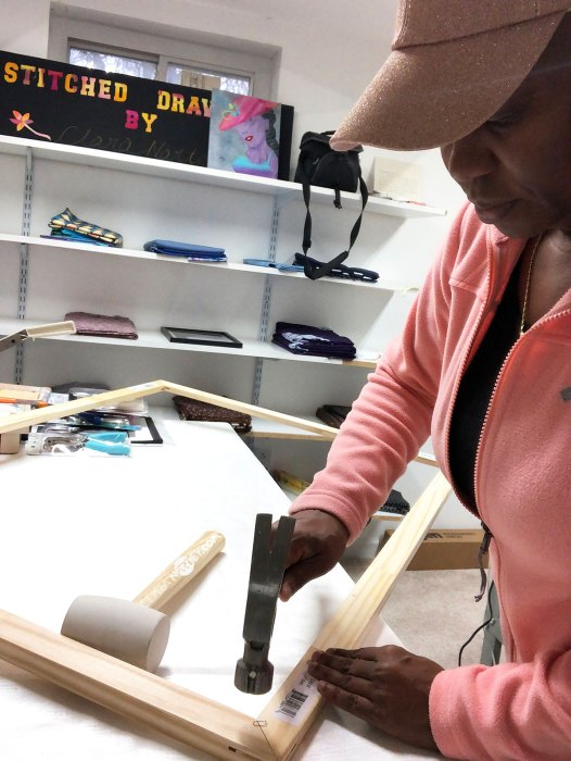 Entering art Shows   Framing textile artwork