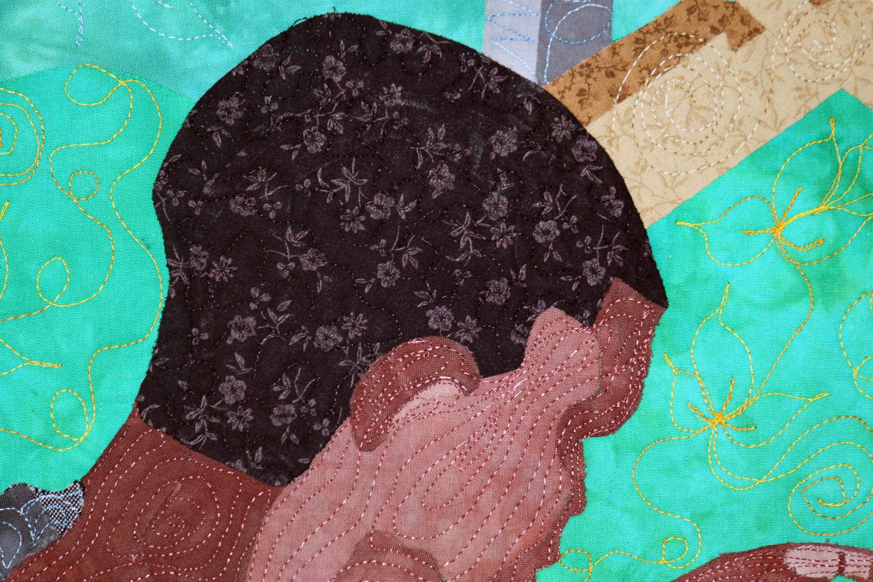 Textile Art | Fiber Art | Art Quilt | Craft | Pandemic