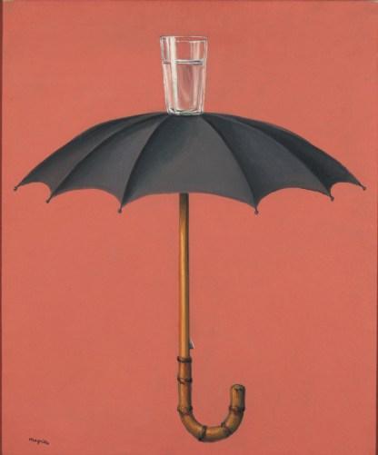 Les Vacances de Hegel, 1958. Huile sur toile, 60 x 50 cm. Collection privée.