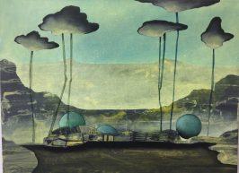 Line S. Hvoslef, Landscape II, 2018