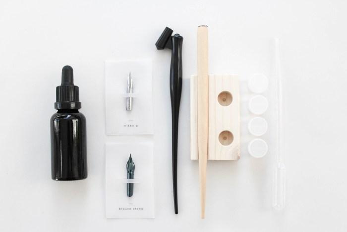 Einsteigerpaket Starter Set Moderne Kalligrafie